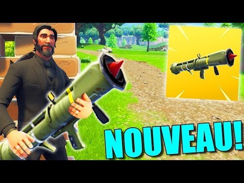 [Live/Fr/FACECAM] Live Fornite On Test Le Lance Missile ?Go 1,3K ? :)