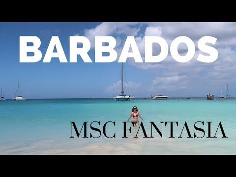 MSC Fantasia - Exploring Barbados - Carlisle Bay & Bridgetown [ Caribbean Cruise Vlog #5]
