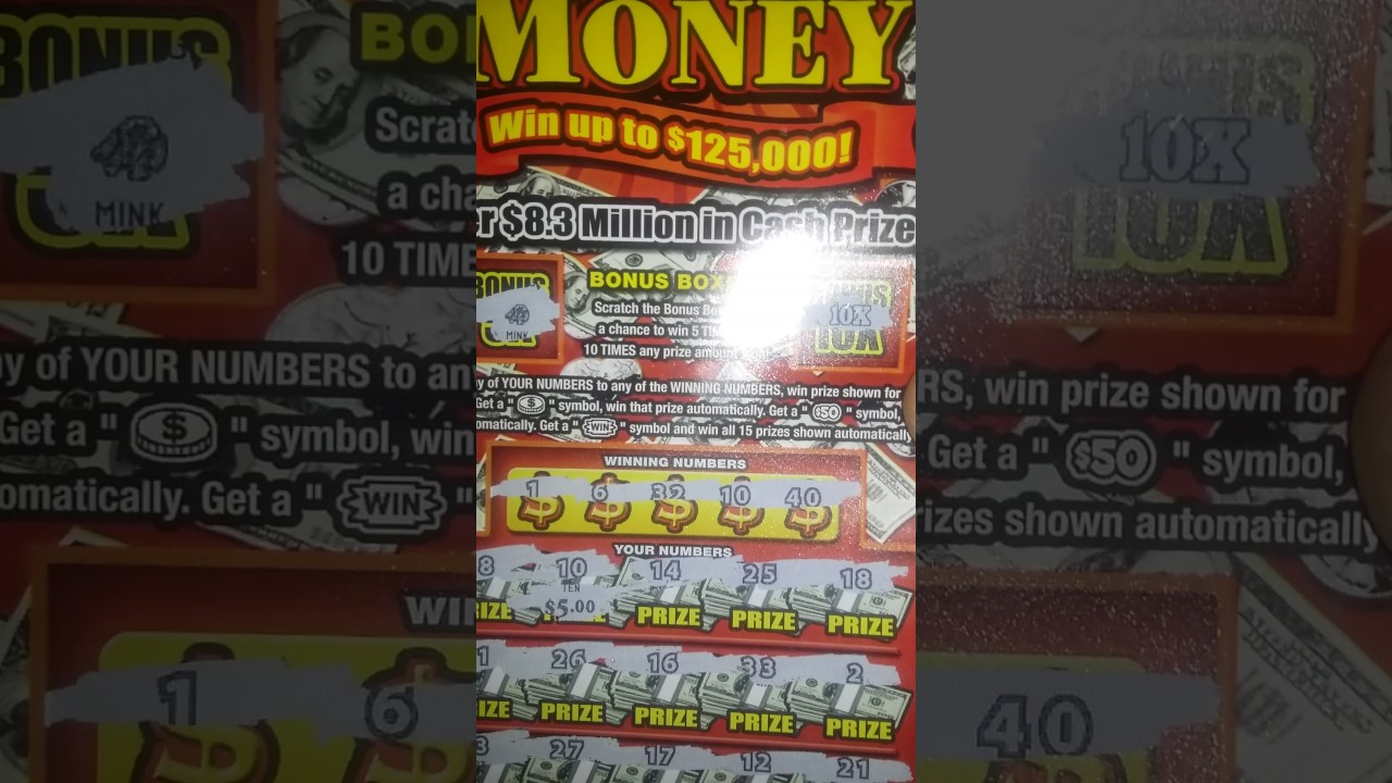 Kentucky lottery scratch off win $260 on 3 $10 tickets back to back