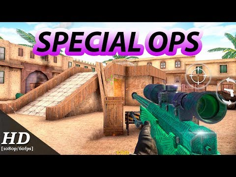 special ops gun shooting online fps war game mod apk