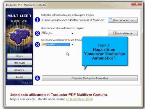 C mo traducir un PDF
