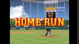 MLB Power Pros 2008 PS2 Home Run Derby 60fps PCSX2 Baseball