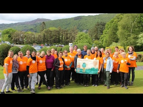 Team Shine Summit 2016, Snowdon, North Wales - 21 May 2016
