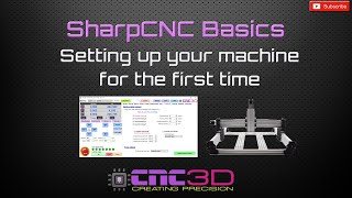 Getting started with your GRBL SharpCNC / YouCarve using CNC3D Commander