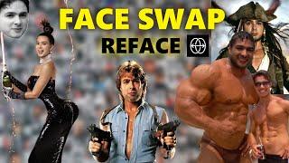Najlepsza APLIKACJA typu face swap -  REFACE screenshot 5