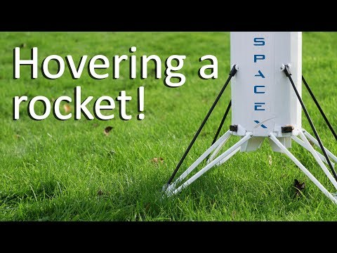Hovering a rocket - SpaceX model