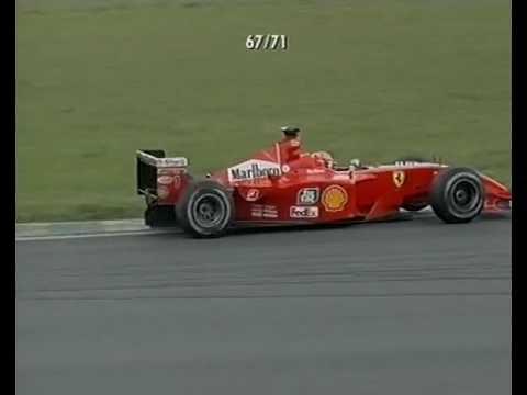 F1 Brazilian GP Interlagos 2001 - Juan Pablo Montoya vs Michael Schumacher!