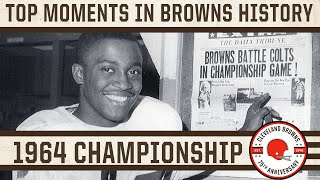 Top 10 Moments: Browns win 1964 NFL Championship Game 27-0 against the Baltimore Colts