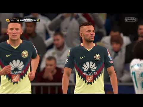 América vs Real Madrid Fifa 18