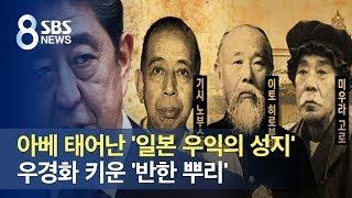 아베 태어난 '일본 우익의 성지', 우경화 키운 '반한 뿌리' / SBS