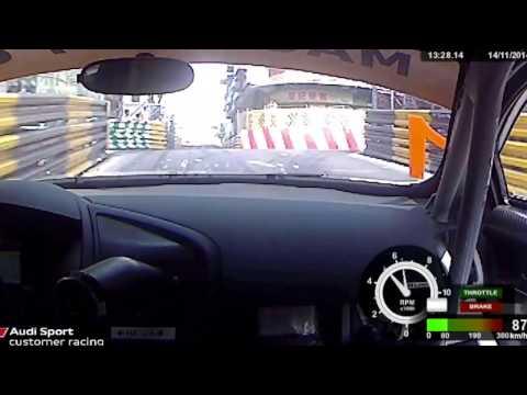 Edoardo Mortara Macau 2014 GT Cup Pole Lap
