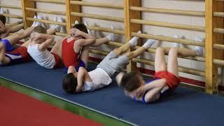 Подкачка .Спортивная гимнастика. Открытый урок. Март 2017