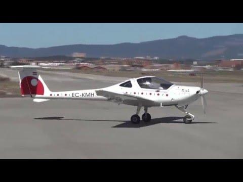 Despegue Diamond DA-20 Katana (EC-KMH) - Aeropuerto Sabadell