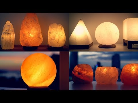 CRYSTAL & SALT LAMP TOUR!