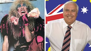 Twisted Sister Vs Clive Palmer