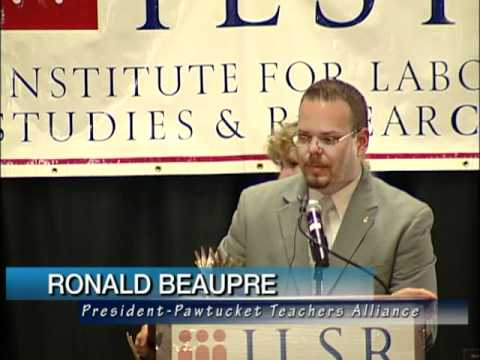 Labor Vision TV Institute for Labor Studies and Research Dinner 5-19-11 Part Two