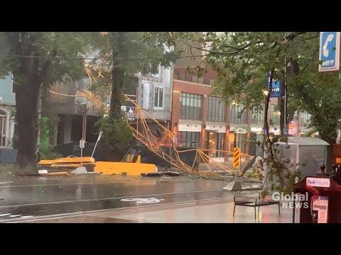 Hurricane Dorian: Storm blows through Nova Scotia downing trees and flooding roads