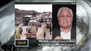الحصاد- اتفاق حلب دونه أجندات