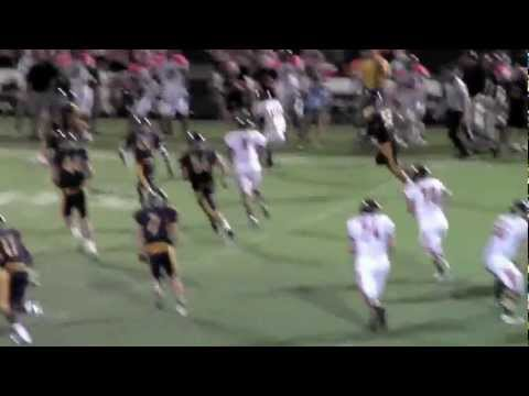 Highlights - Gilmer Buckeyes at Plano Prestonwood Christian Academy Lions - Sept 7, 2012