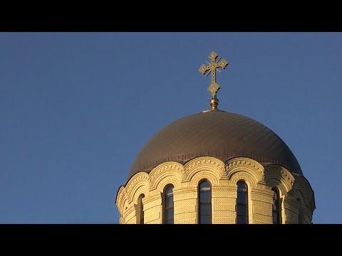 Ноябрь 2013. Престольное торжество в храме Святого Иоанна Кронштадтского.