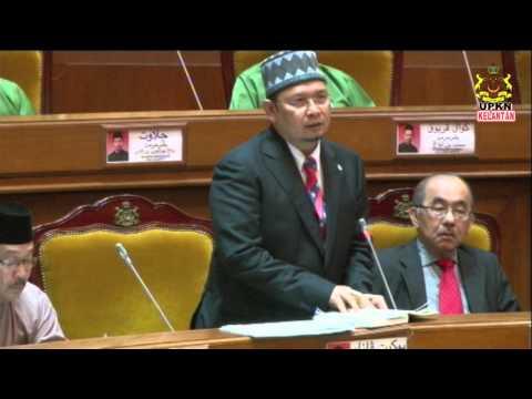YB. Dato' Haji Ab. Fattah bin Haji Mahmood [Penggulungan DUN Kelantan Kali Pertama ]7.8.9 Mac 2016