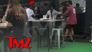 TikTok Star Bryce Hall Involved In Restaurant Brawl Caught On Video | TMZ