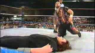 WWF   Undertaker vs Bam Bam Bigelow   Superstars 1993