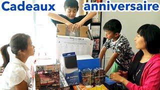 OUVERTURE CADEAUX ANNIVERSAIRE MaxCraft 13 ans   PlayStation pro, VR, Gunpla, Splatoon, Dragonball