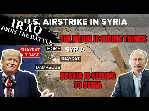 RUSSIA KNEW OF THE ATTACK | WERE THEY GERMAN CHEMICAL WEAPONS? MIDDLE EAST WAR | TRUMP SYRIA & CATS
