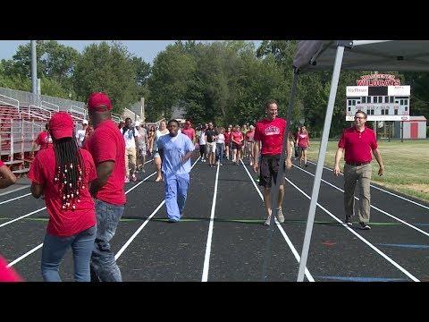 Waggener High School -- Track Dedication