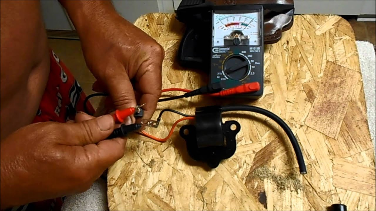 How To Check A Johnson And Evinrude Coil Youtube Force 35 Basic Boat Wiring Diagram