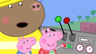 Peppa Pig Full Episodes - Digger World - Cartoons for Children