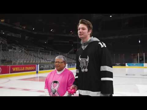 San Antonio Rampage 2018 Pink in the Rink Game