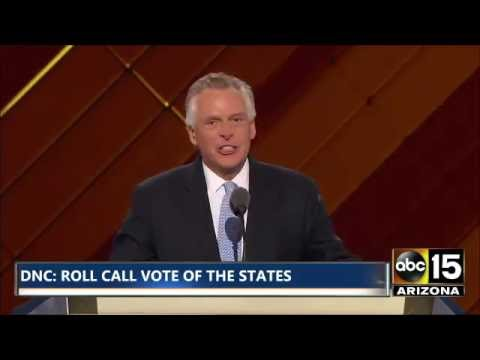 FULL: Gov. Terry McAuliffe - Democratic National Convention