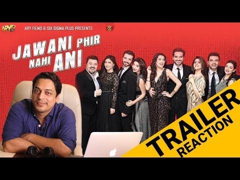Jawani Phir Nahi Ani | Official Trailer | Trailer Reaction |
