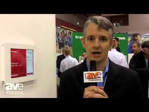 ISE 2016: Kramer Discusses Their Partnership with EventBoard and Demonstrates It's Capabilities
