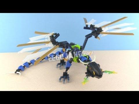 Hero Factory Dragon Bolt MOC - Brain Attack wave 2 - YouTube