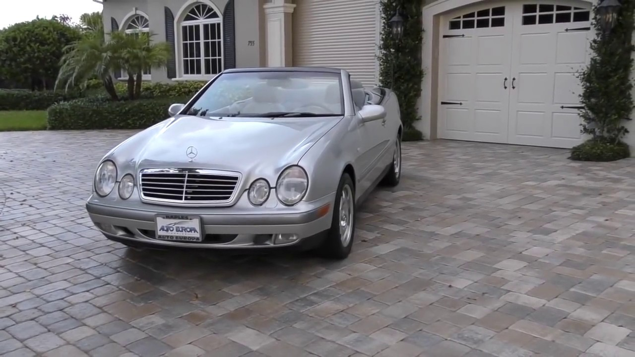 1999 Mercedes Benz Clk320 Convertible Review And Test Drive By Bill Auto Europa Naples