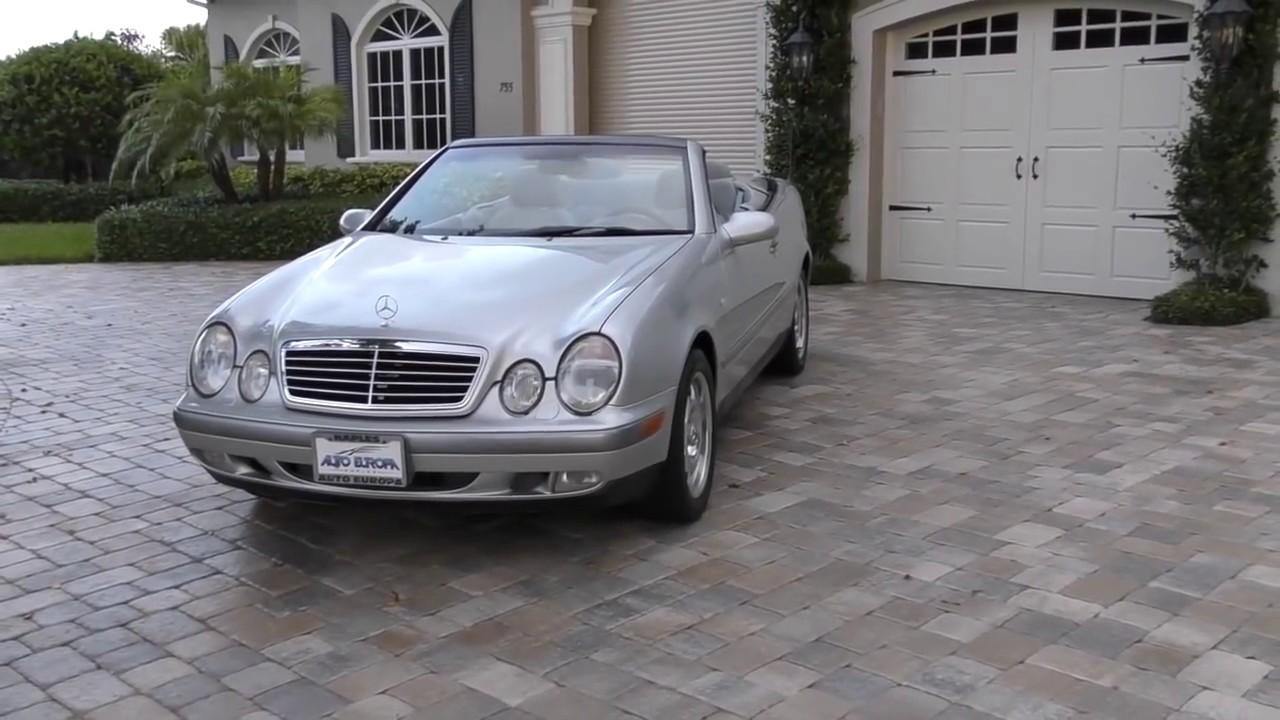 2001 mercedes clk320 convertible review
