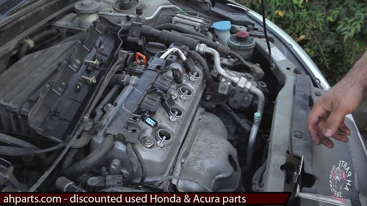 spark plugs ignition coils how to replace install fix change 01 02 rh youtube com 1998 Acura RL 1998 Acura TL Interior