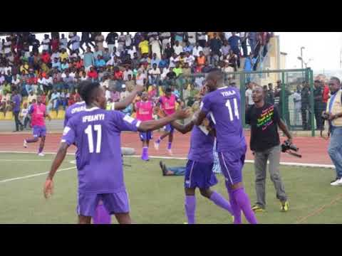 NPFL  Lagosians celebrate MFM FC and return of CAF Champions League to the city