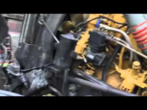 05 kenworth w900 air filter removal