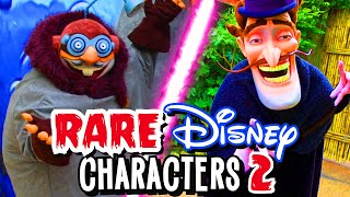 Top 6 Rare Disney Parks Characters 2