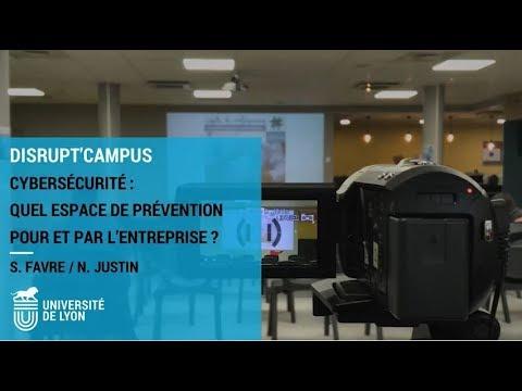 Conférence - Cybersécurité : quel espace de prévention pour et par l'entreprise ?