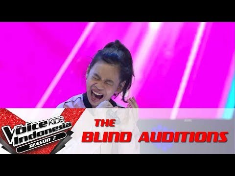 Nabila 'Side To Side' | The Blind Auditions | The Voice Kids Indonesia Season 2 GTV 2017