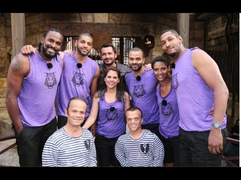 Fort Boyard du 25072015    EQUIPE  TONY PARKER   meilleurs moments  FULL HD