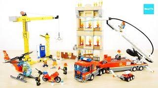 レゴ シティ レゴシティの消防隊 60216  / LEGO City Downtown Fire Brigade 60216