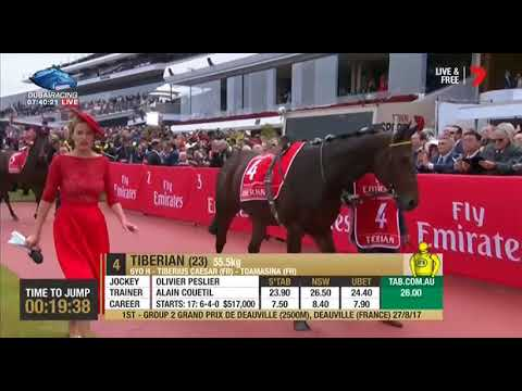 REKINDLING - EMIRATES MELBOURNE CUP 2017 - COREY BROWN (FULL RACE)