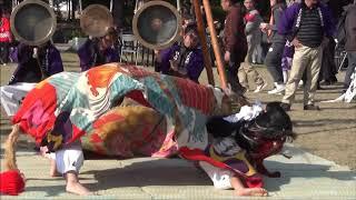 西上円座獅子組(獅子舞王国さぬき2017)
