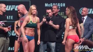 UFC196量-Ins:Hollyホルムvs.Mieshaテート